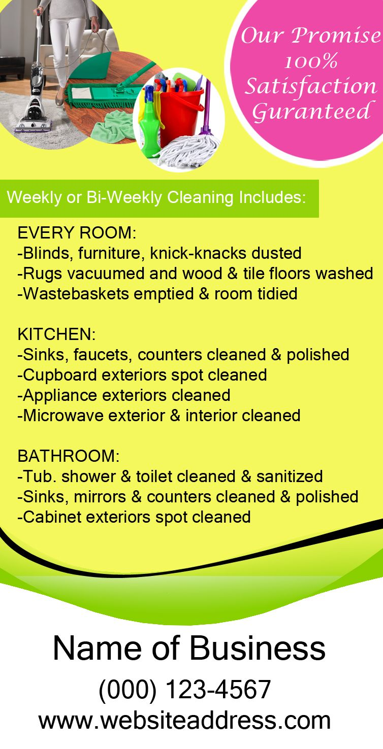 house cleaning ad 1