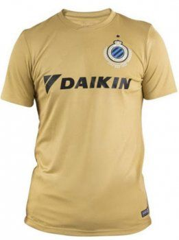 Club Brugge KV Third 16-17 Season Golden Soccer Jersey [H710 ...