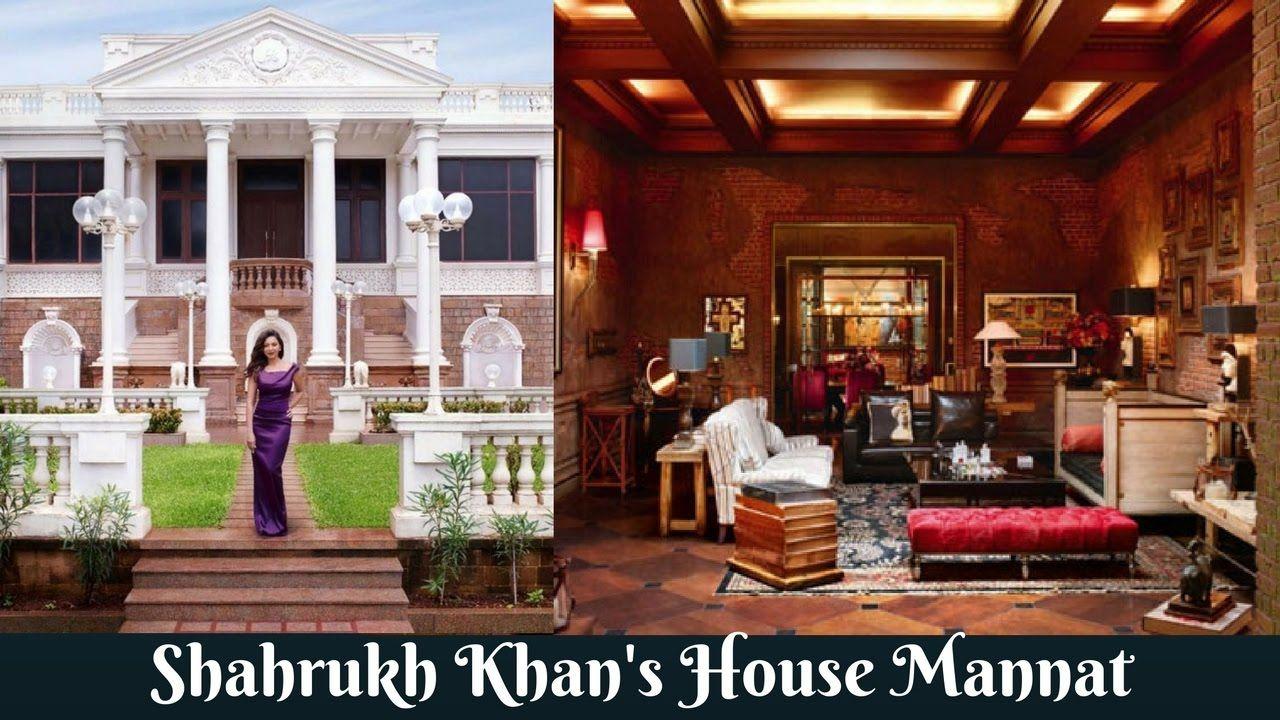 Shahrukh Khanu0027s House Mannat Inside And Outside View | Shahrukh Khanu0027s H..