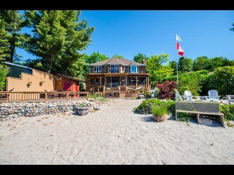 Pleasing 1618 Tiny Beaches Rd N Tiny Ontario Barrie Real Estate Tours Download Free Architecture Designs Xaembritishbridgeorg