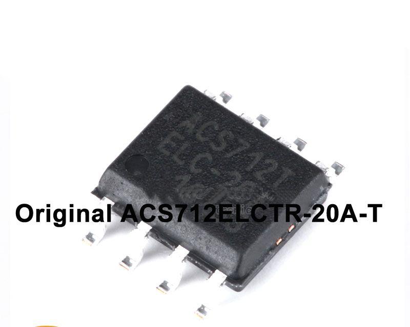 Free shipping ALLEGRO SOP-8 ACS712ELCTR-20A-T current sensor range - free sop