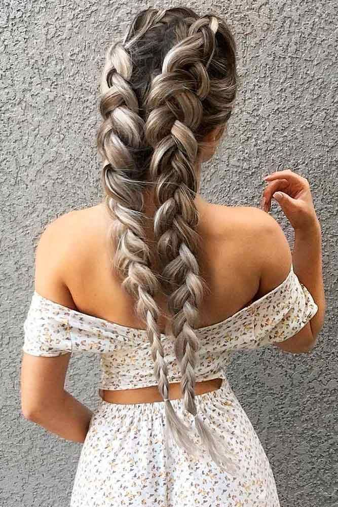 42 Easy Summer Hairstyles To Do Yourself   Cool braid hairstyles, Braided hairstyles easy, Hair ...