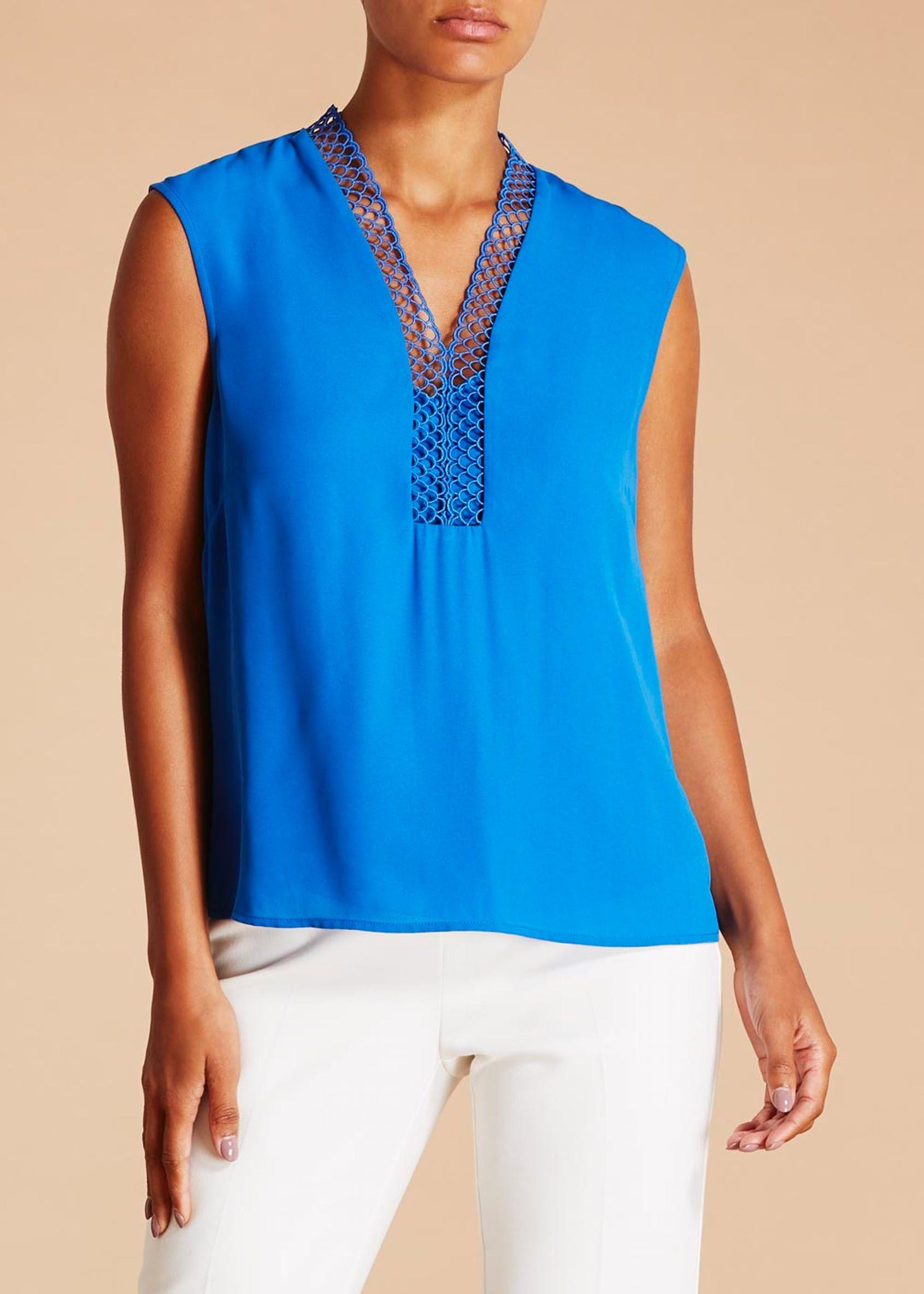 31d27b92f612a2 FWM Lace Trim Shift Top | what to wear? | Pinterest | Lace trim ...