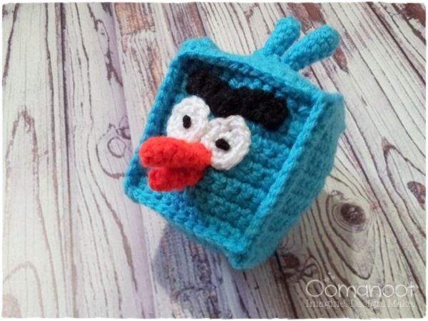 Tutorial Amigurumi Angry Bird : Pattern crochet angry bird beta version youtube
