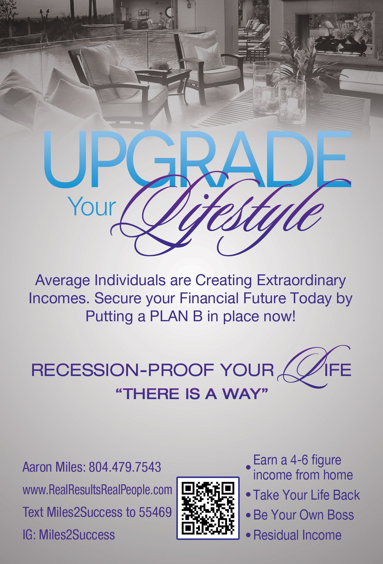 flyer design for an mlm company based out of new york