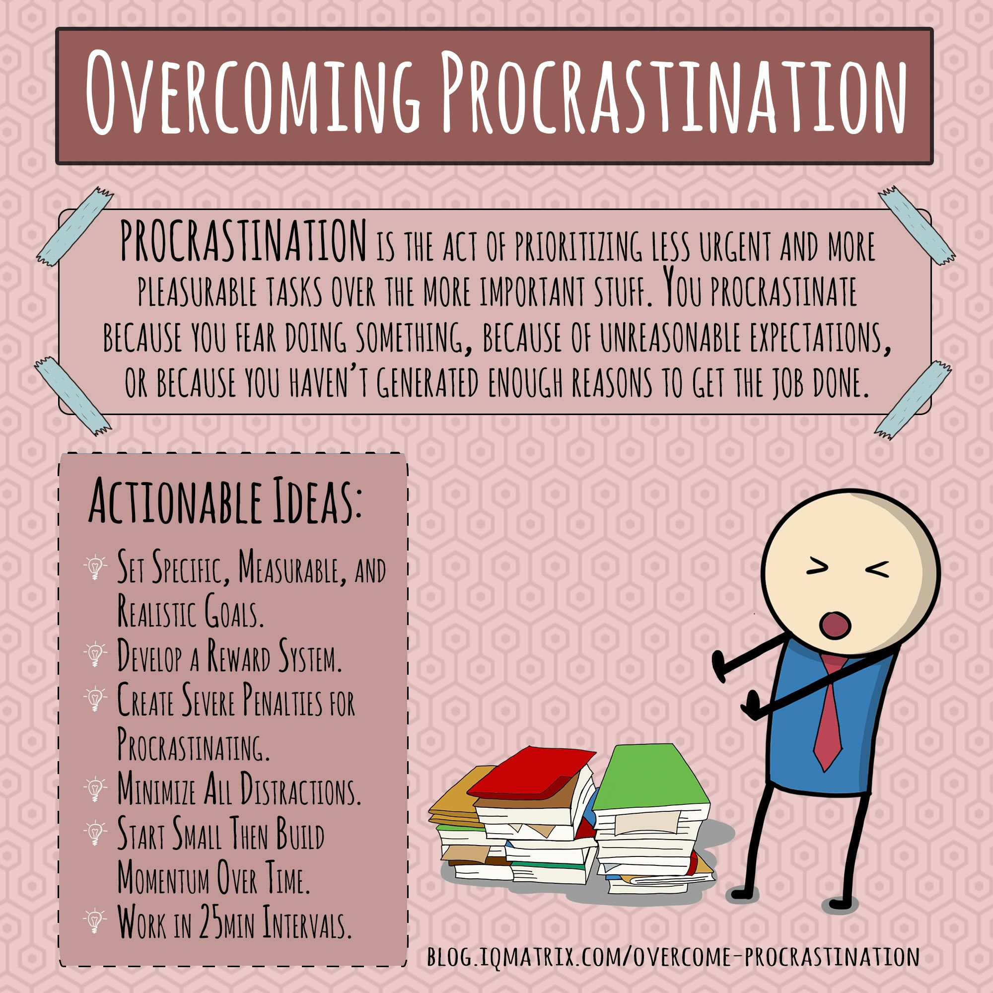 A Foolproof Method To Overcome Procrastination And Achieve