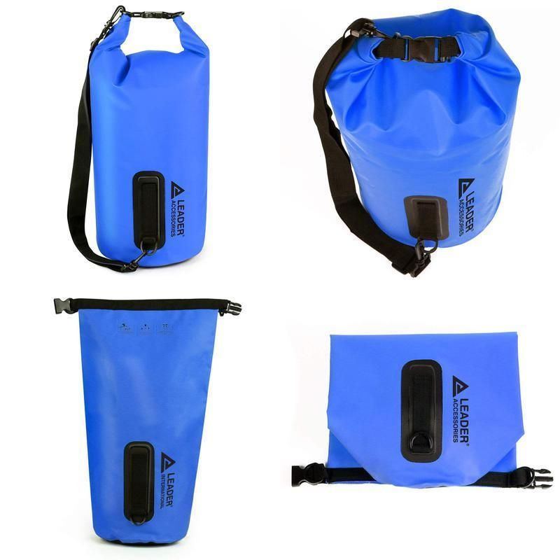 Leader Accessories Heavy Duty Vinyl Waterproof Dry Bag For Boating Kayaking  Fish e240b225ac2a2