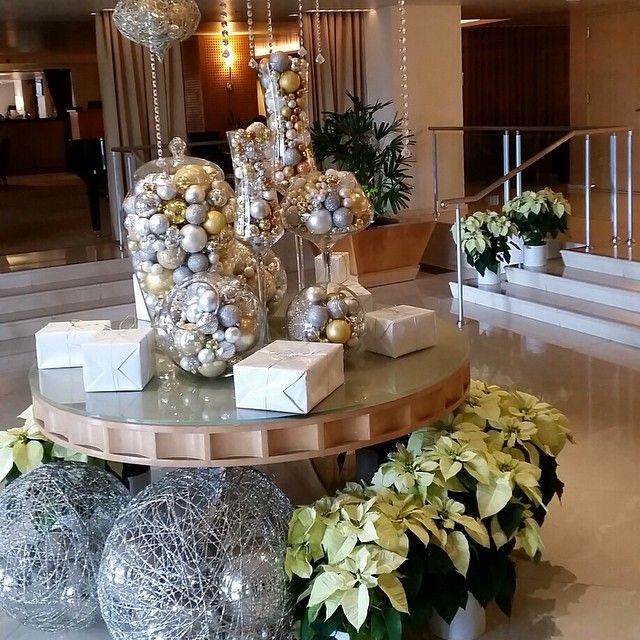 Christmas Decorations Ideas For Hotels: Christmas Inspiration