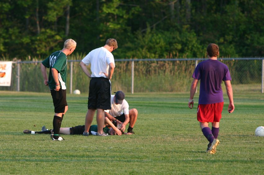 Head injury risk higher for female soccer players