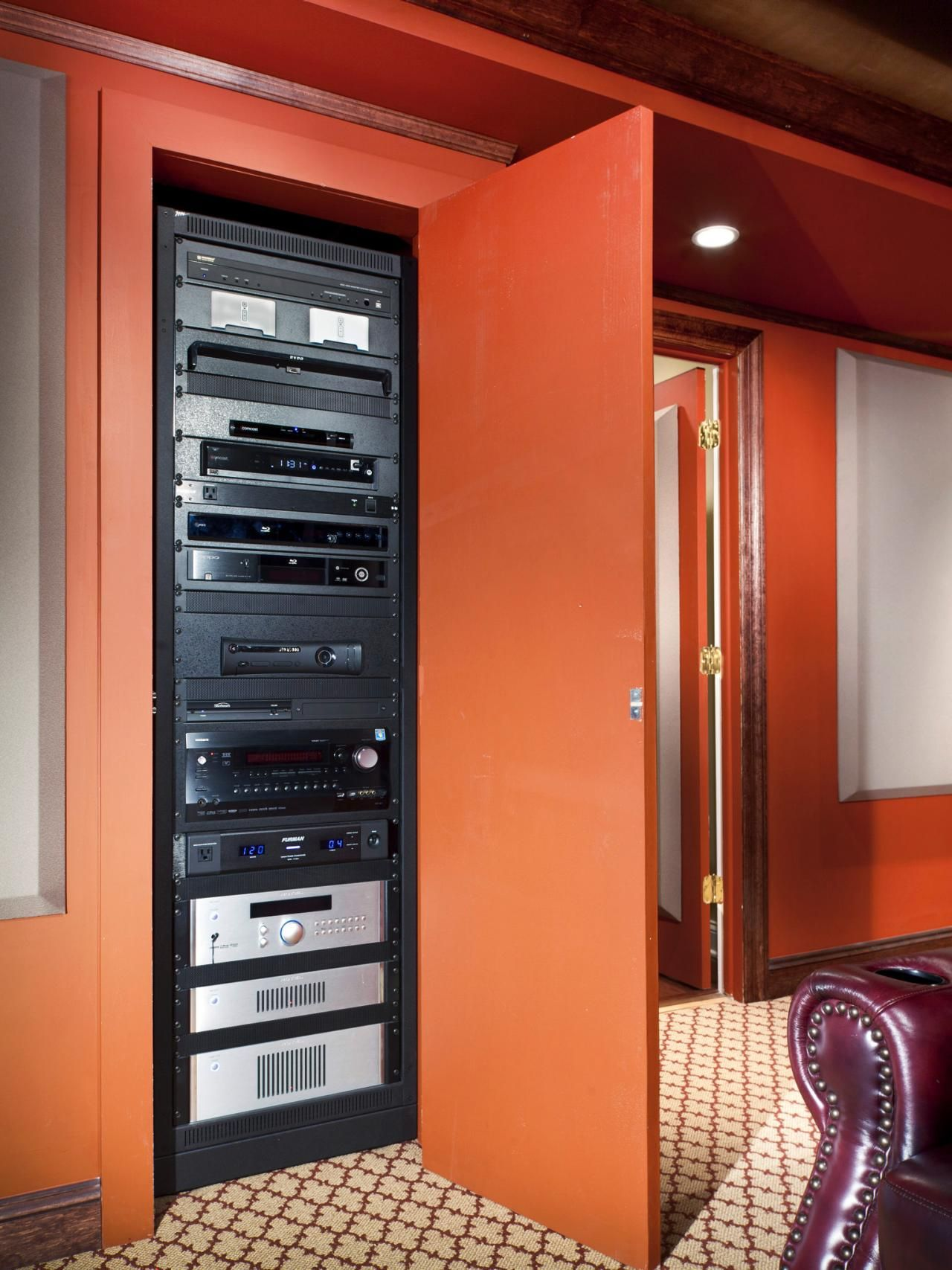 home theater network rack - Google Search | Rack of My Dreams ...