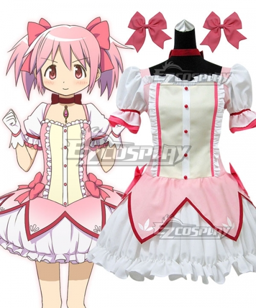 Puella Magi Madoka Magica Kaname Madoka Cosplay Costume In 2021 Cosplay Costumes Anime Cosplay Costumes Puella Magi Madoka Magica