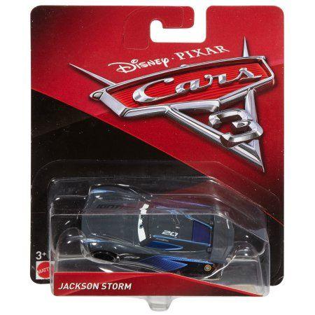 2017 Mattel Disney Pixar Cars 3 Jackson Storm Diecast for sale online