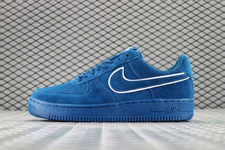 Low Noise Mens Force Suede 1 2019 Blue In Nike Air Size En Aqua UMGjqSVpzL