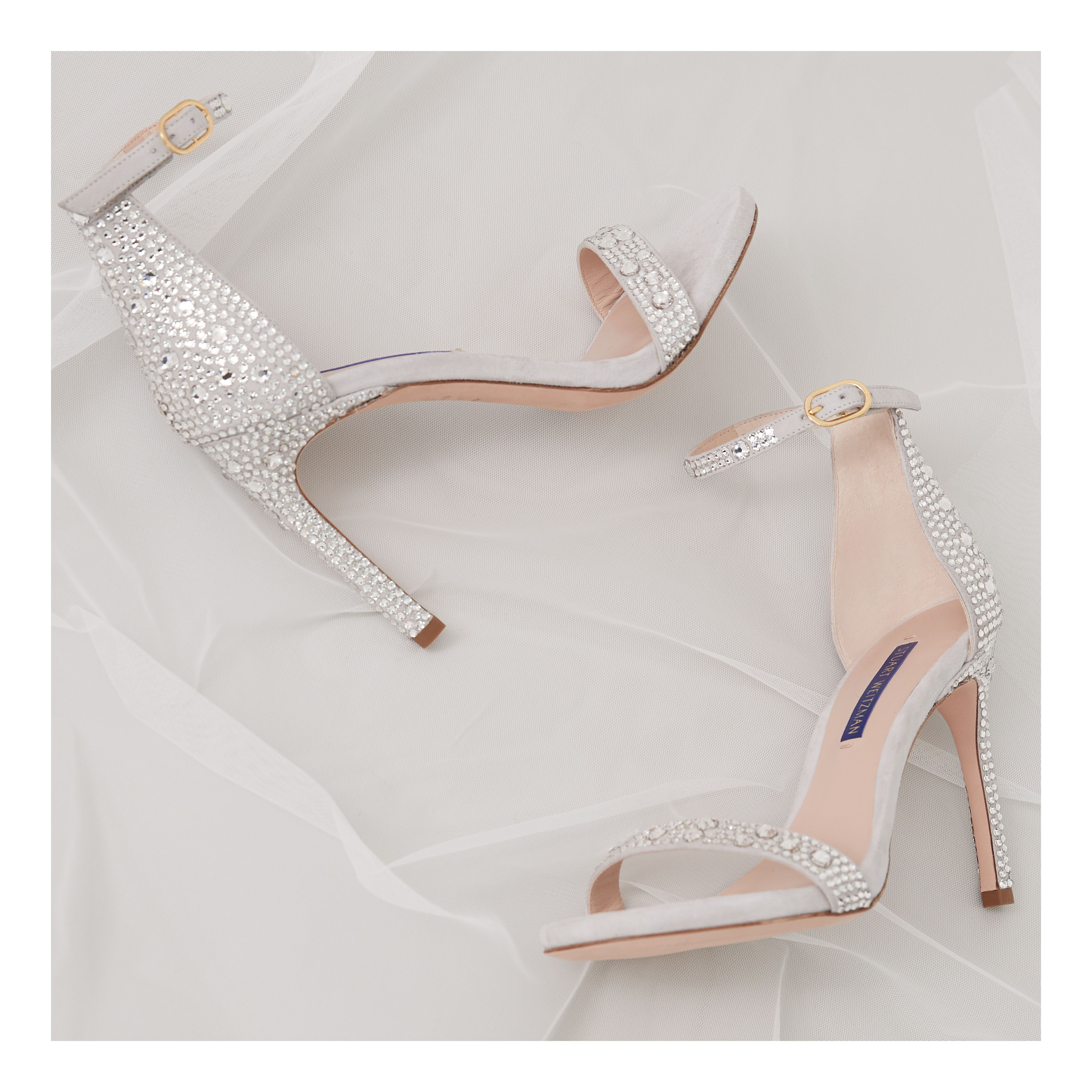 It S Your Day To Shine So Go All Out No Really All Out Nudistsongstardust Swbridal Swwomen Stuartweitzman Wedding Shoes Bridal Shoes Heels