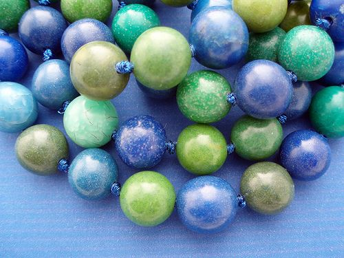 Detail Blau und grün, Kathrin Neumaier
