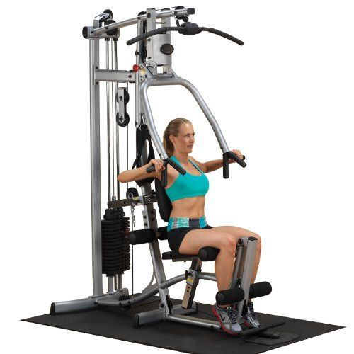 Powerline P1x Single Stack Home Gym At Home Gym Best Home Gym Equipment Home Gym Exercises