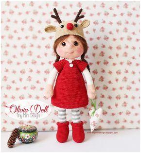 Amigurumi Olivia Doll #handmadetoys