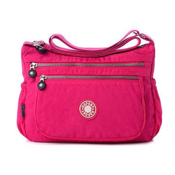 b3279dd73d5a Women Nylon Waterproof Crossbody Bag Ladies High-End Casual Outdoor  Shoulder Bags is Worth Buying - NewChic Mobile.