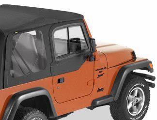 Bestop Upper Door Sliders For 97 06 Jeep Wrangler Tj Unlimited Jeep Wrangler Tj Jeep Wrangler Wrangler Tj