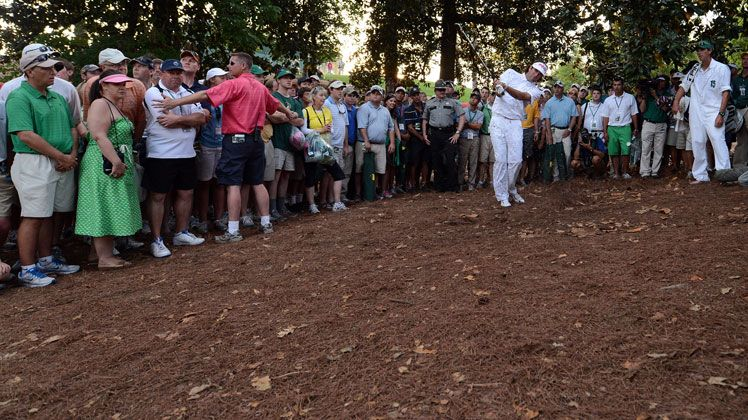 Bubba Watson wins The Masters with this miracle shot from