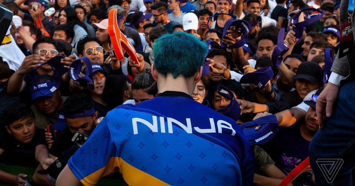Tyler Ninja Blevins the Twitch streamer and Fortnite star