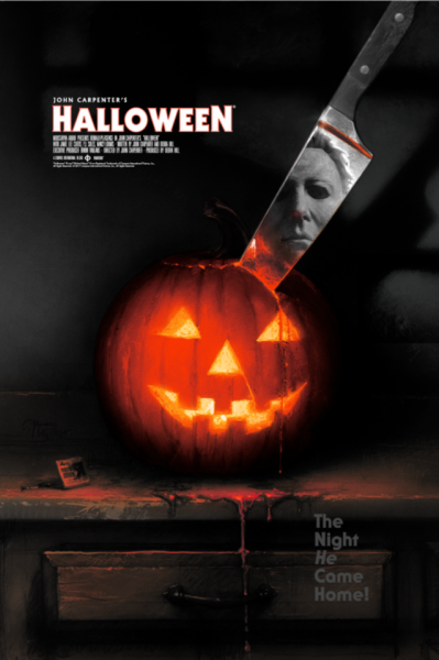 HALLOWEEN Movie Poster ART Michael Myers John Carpenter