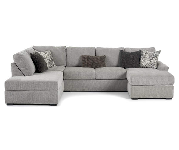 Broyhill Parkdale Sectional Big Lots In 2020 Sectional Sofa With Chaise Comfortable Sectional Sofa Comfy Sectional