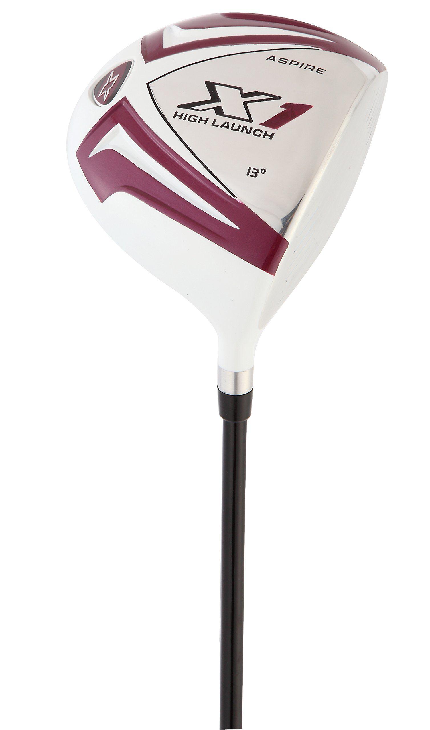 Aspire x1 ladies womens complete golf club set includes