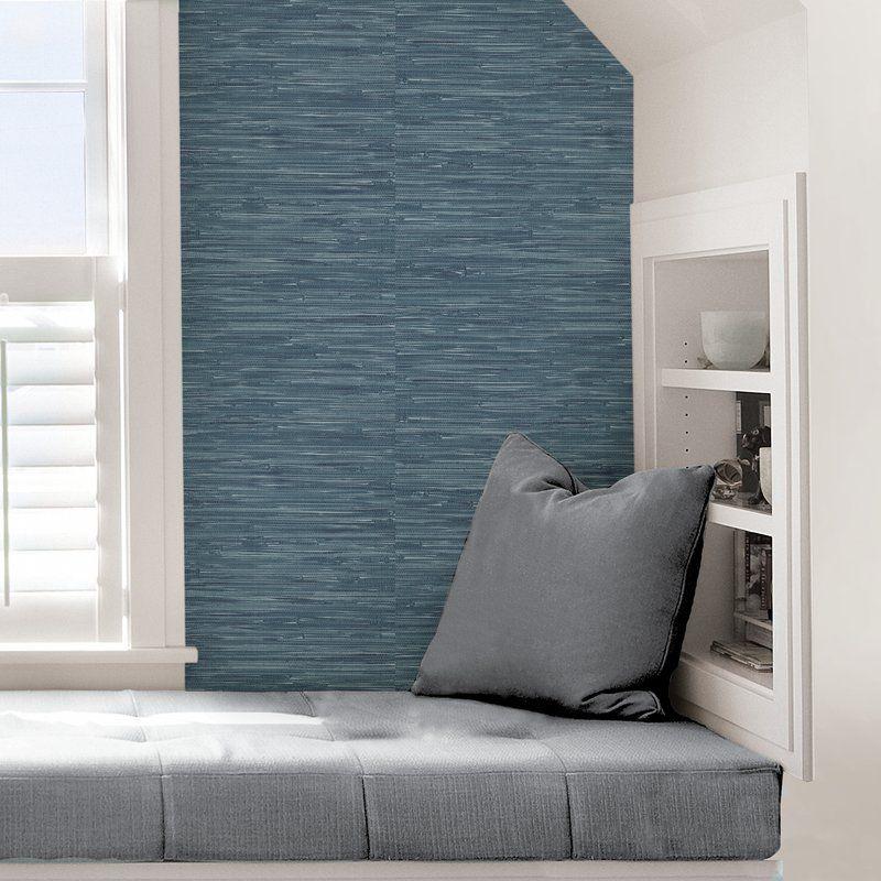 Roommates Grasscloth Peel Stick Wallpaper Bed Bath Beyond In 2020 Grasscloth Wallpaper Roommate Decor Grasscloth