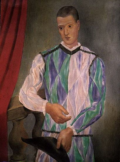 Pablo Picasso, Arlequin 1918 on ArtStack #pablo-picasso #art ...