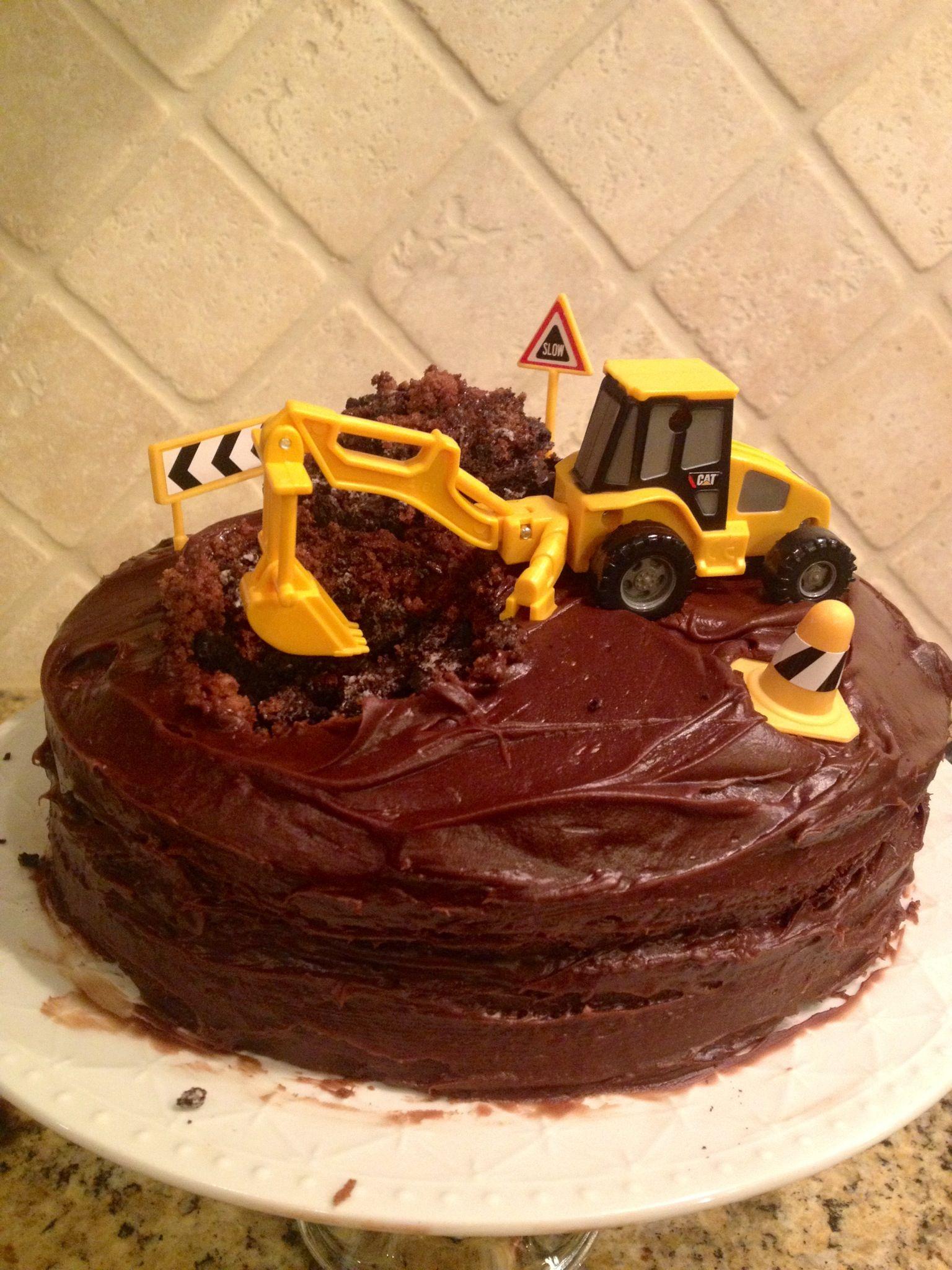 Construction Truck Cake Festa Pinterest Cake Truck Cakes And