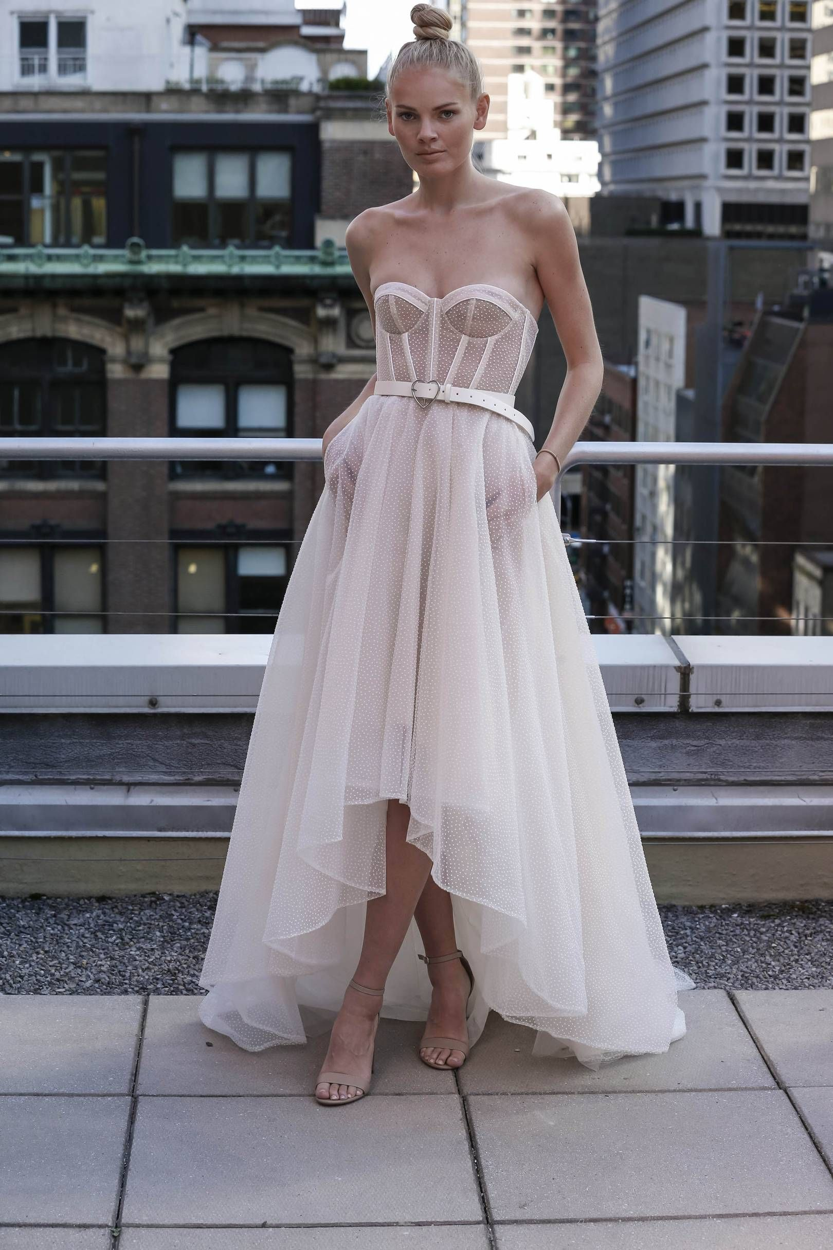 Chanel Redefines Beach Wedding Wear With Haute Couture Bridal