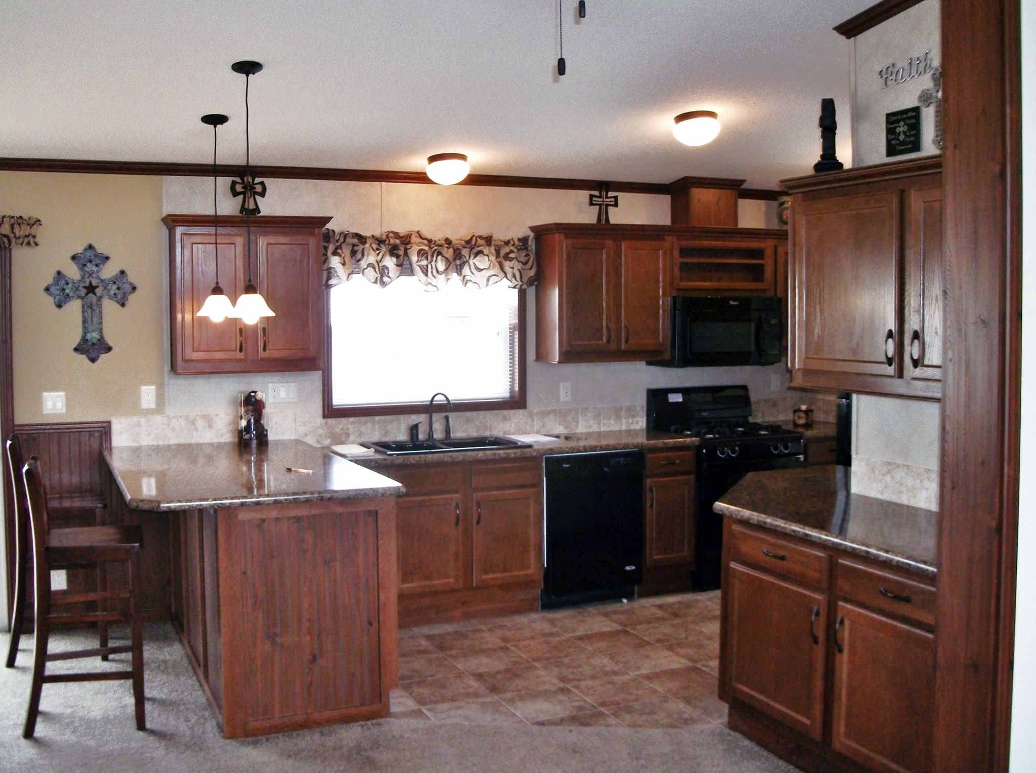 Awesome Skyline, Lancaster, Wisconsin U2014 The Lexington A215 Kitchen Shown With  Cherry Hardwood Cabinets, Ideas