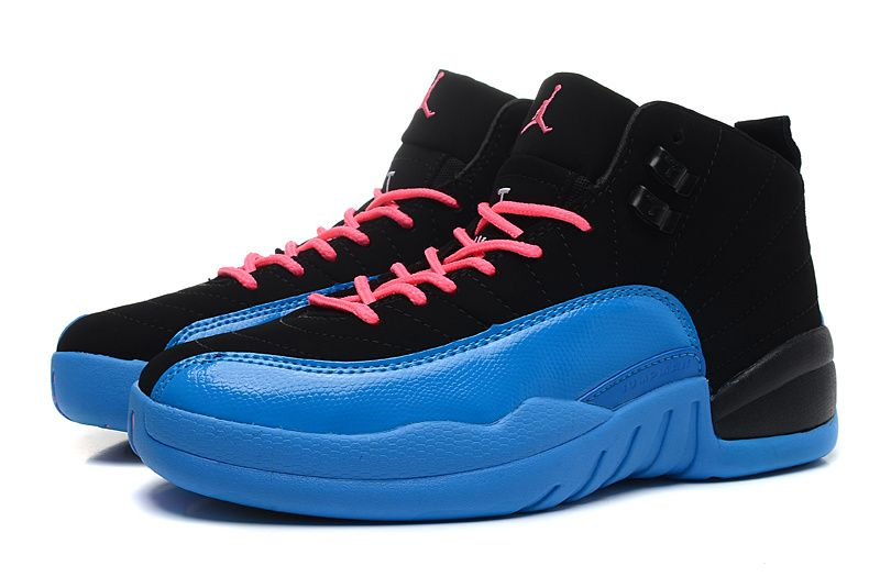 new product b17d4 6a105 AJ 12s white blue pink