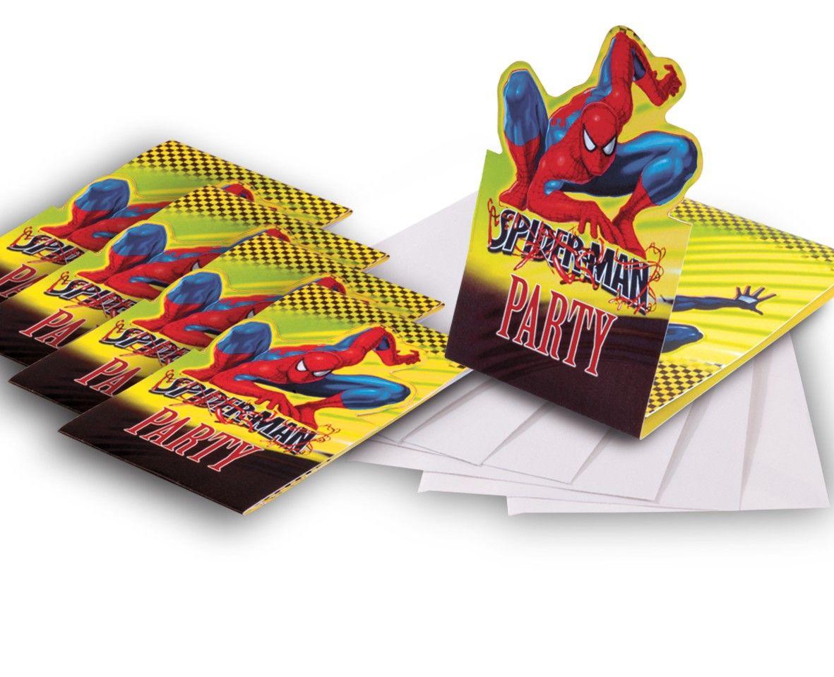 Invitaciones De Cumpleaños De Spiderman Para Descargar Gratis 20  en HD Gratis