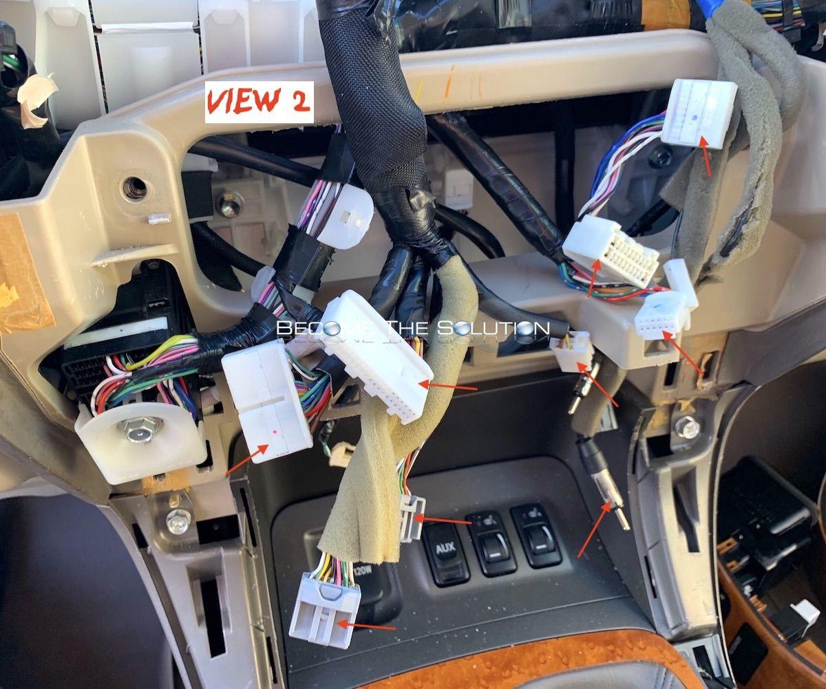 Installation Use Phoenix Android Radio Lexus Gx 470 Lexus Gx Android Radio Lexus