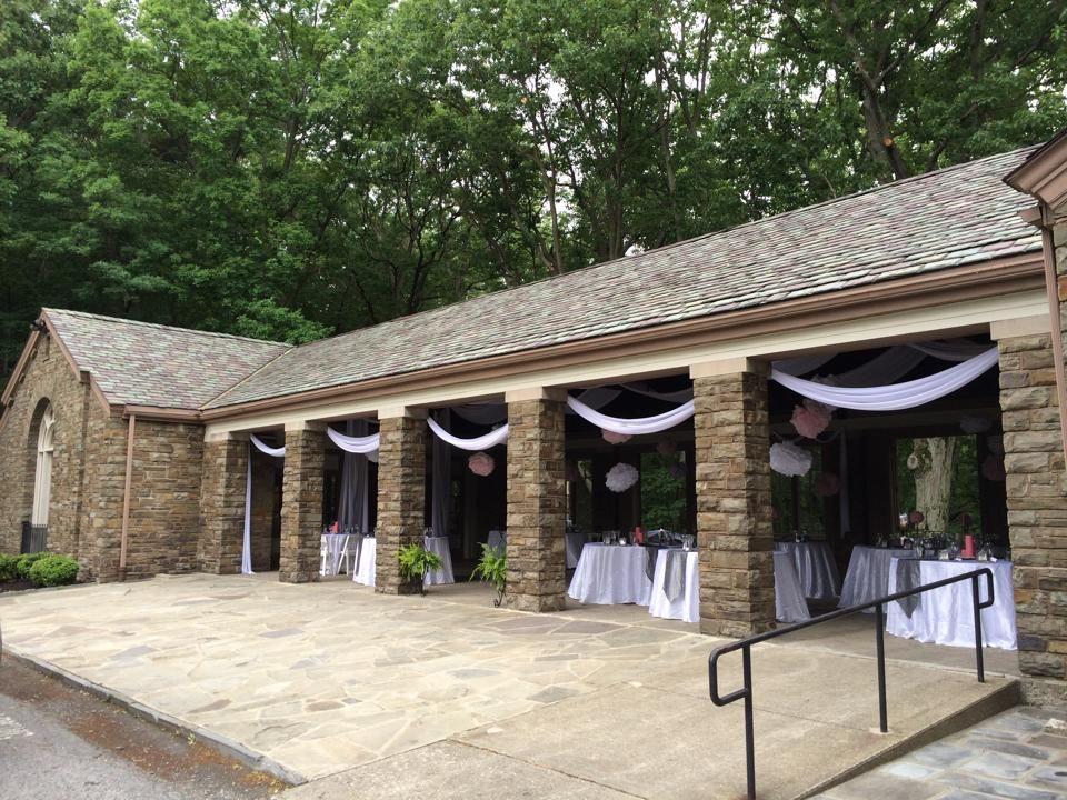 Watkins Glen Pavilion Made A Beautiful Venue For A Wedding.