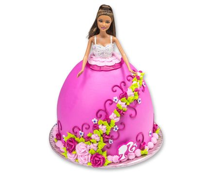 Barbie Doll Roses Signature Decoset Cake Topper Hispanic