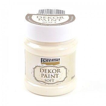 Kriedová farba Dekor Paint Soft 230ml   slonovinová  ab00b5fb6d7