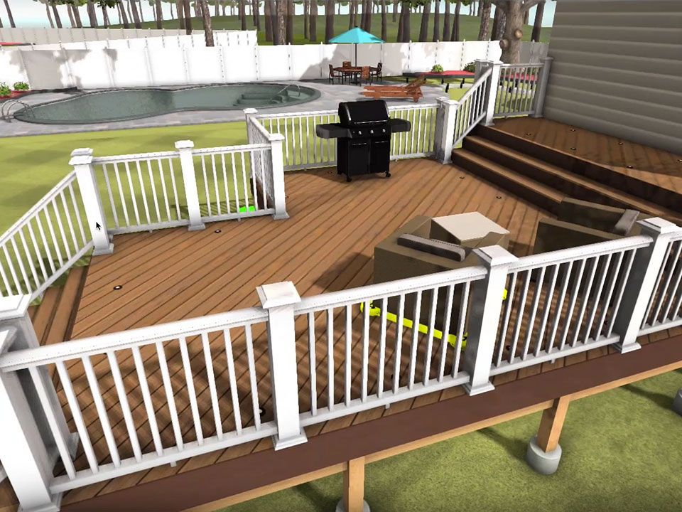 Deck Designer Deck Design Tool Augmented Reality Azek Deck