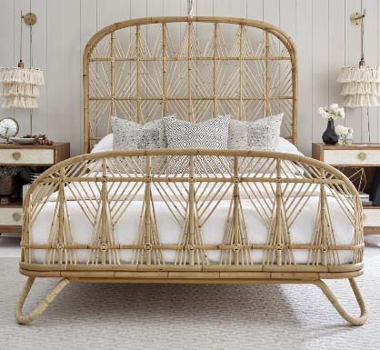 Ara Rattan Bed Justina Blakeney Bedroom furniture