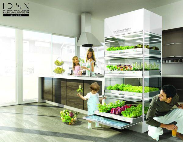 garden kitchen of the future