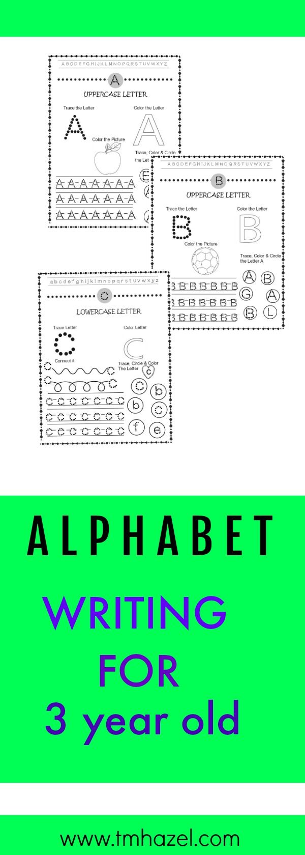 TRACING WORKBOOKS FOR PRESCHOOL | Alphabet writing, Letters ...