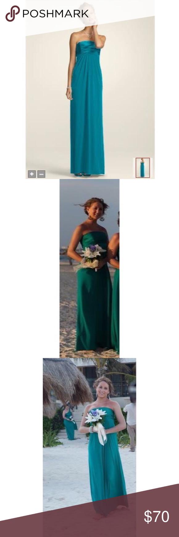 Davidus bridal jade bridesmaidprom dress