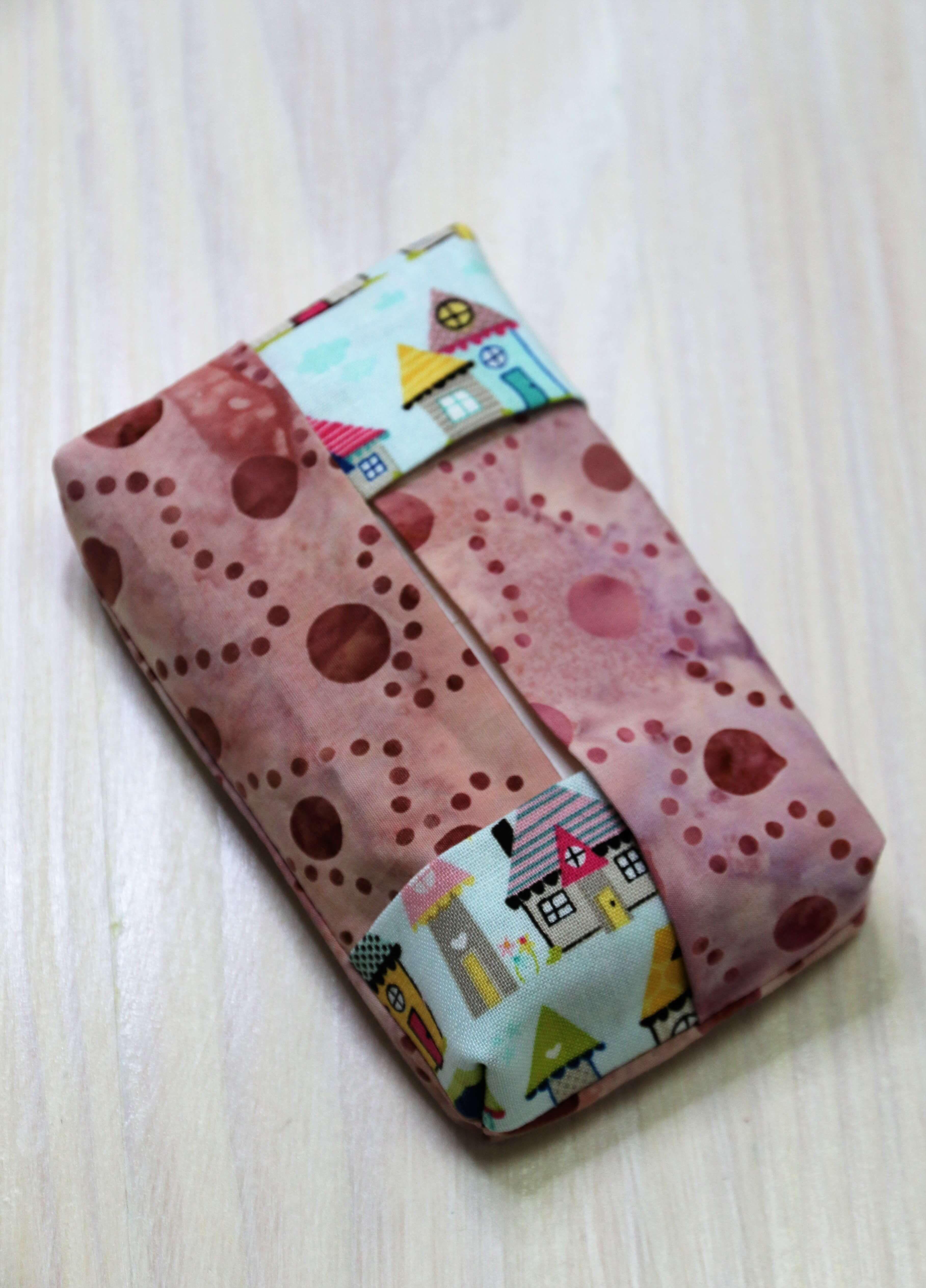 Coudre une poche en tissu à partir de morceaux de tissu   – Marita