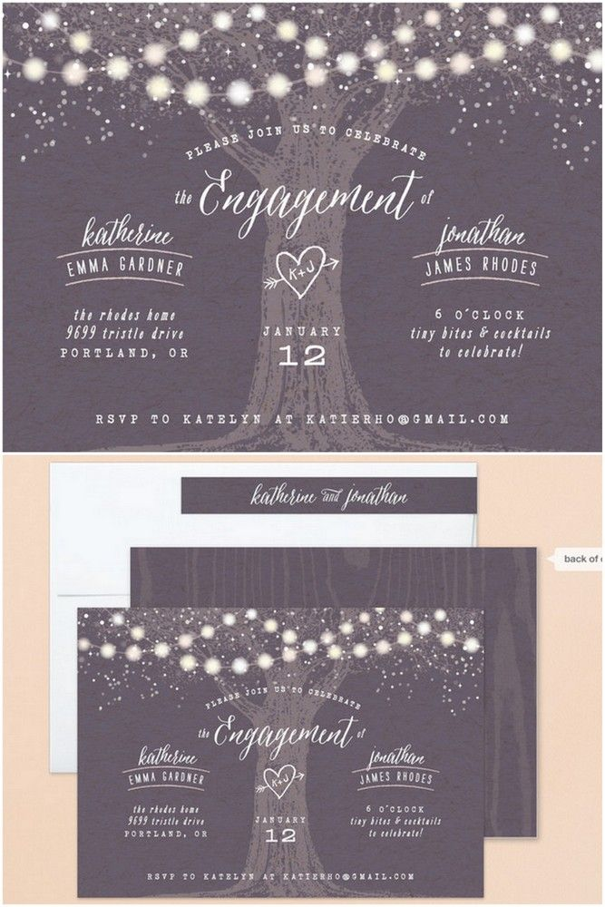 22 Engagement Party Invites To Say Yes To Pinterest