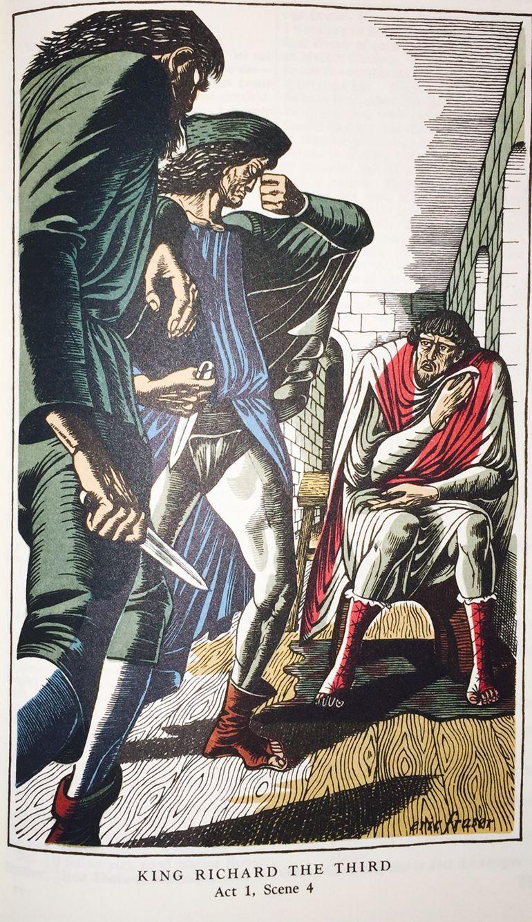William Shakespeare's: King Richard the Third Act 1, Scene 4.