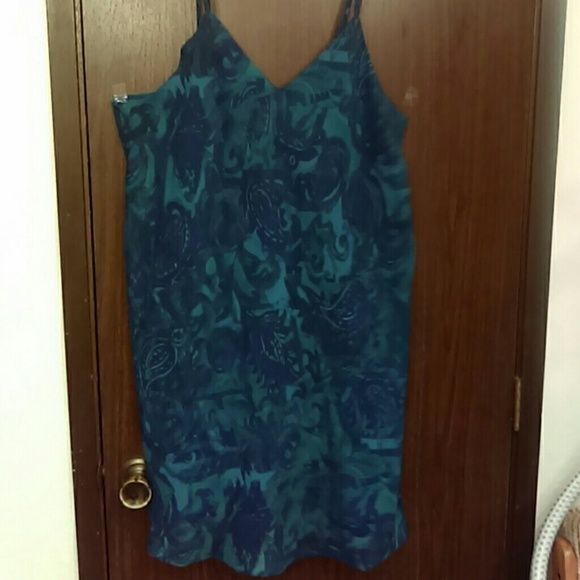 Nightie Beautiful spaghetti strap sleep gown. Size 18/20 Lane Bryant Intimates & Sleepwear Chemises & Slips