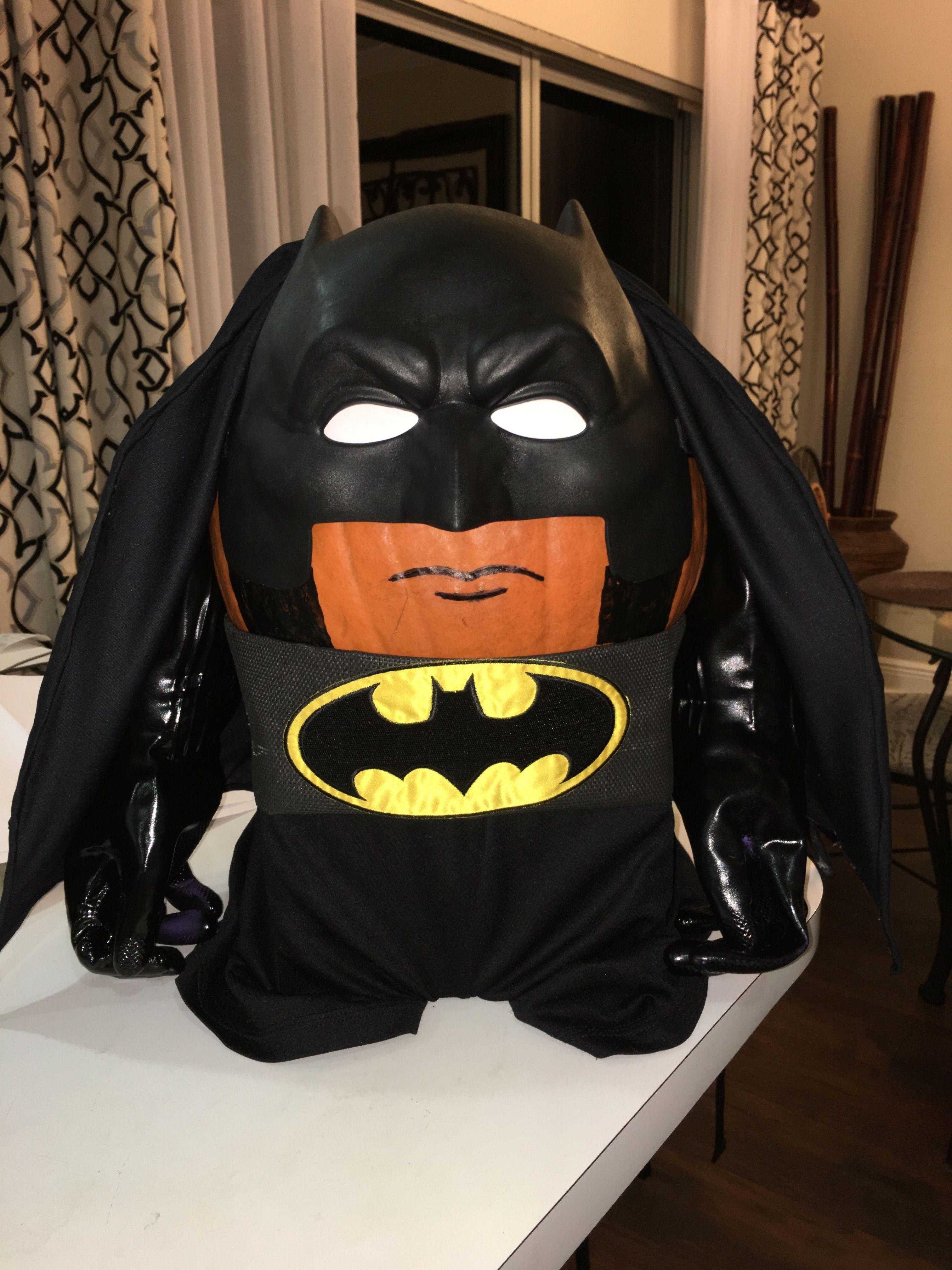 Batman Pumpkin Project Contest Superhero