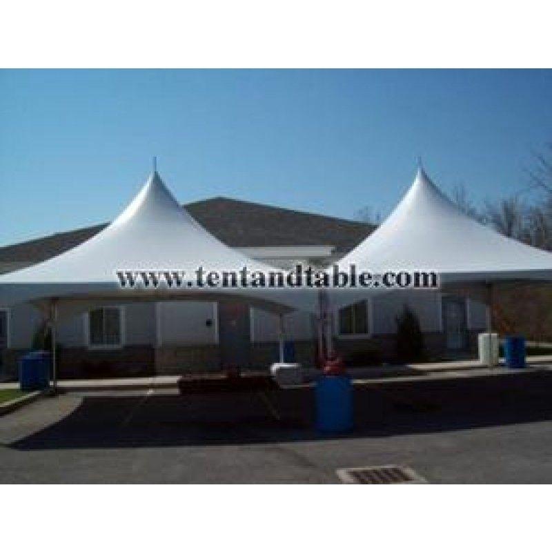 20x30 White High Peak Frame Tent Canopy   weddings   Pinterest ...